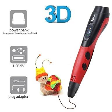 Bolígrafo 3D TIPEYE 2019 SmartGear 06A 3D con pantalla LCD para ...