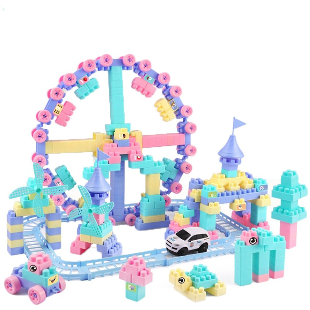 Juguetes Para Niños En Bloques De Construcción, 300 Inserciones De Ortografía DIY Plásticos 1-2-3-6 Edad 7 Niños Y Niñas Bebé Puzzle Desarrollo Inteligencia, Regalos Para Niños, Nanayaya