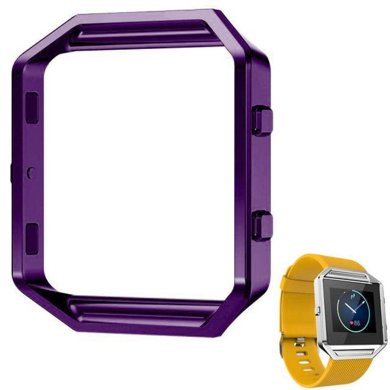 Dreamanステンレススチールメタル腕時計フレームホルダーシェルfor Fitbit Blazeスマート時計  B07434FPYB