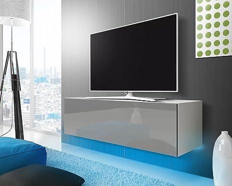 Lana - Mobiletto porta TV sospeso / Mobile porta TV sospeso (140 ...