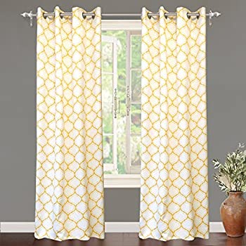 yellow white and curtain of chevron curtains striped full size checkered