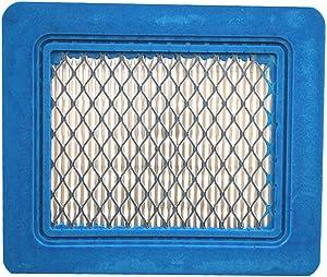 1 Pack 491588S Flat Air Filter Cartridge for Briggs & Stratton 491588 399959 4942245 4915885 3.5-6.5 HP Quantum Engines Push Mower Lawn Mower Air Filter