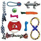 Ai-uook Dog Toys, Dogs Chew Teething Rope Toys, Puppy Toys 10 Packs Gift Set Review