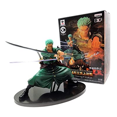 Vol.5 Roronoa Zoro ONE PIECE one piece molding SCultures BIG king showdown at the summit (japan import) by Banpresto: Toys & Games