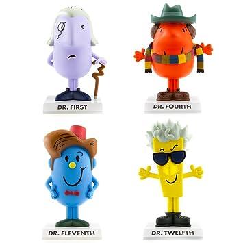 BBC Mr Men None Doctor Who MR - Figuras de Hombre (4 Unidades ...