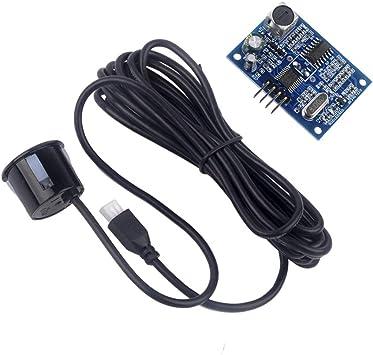 DC5V JSN-SR04T Ultrasonic Module Distance Measuring Transducer Sensor Waterproof