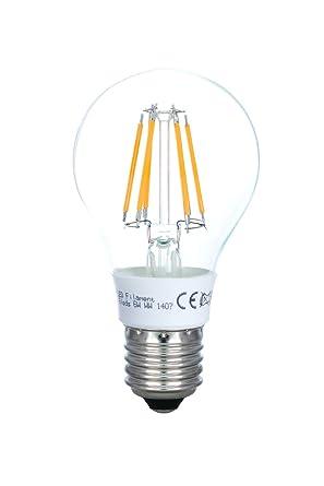 Led Lampe E27 Fadenlampe A60 6w Ersetzt 60 Watt Glühbirne Led