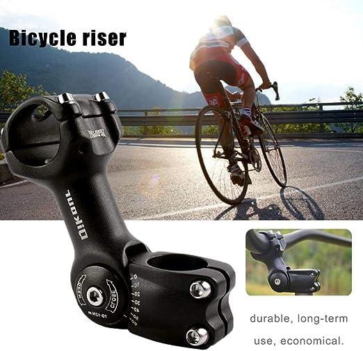 chifans Elevador de Bicicleta Ajustable de Manillar de aleación de Aluminio 31.8 110 mm 0~60 ° Manillar de Bicicleta Ajustable: Amazon.es: Hogar