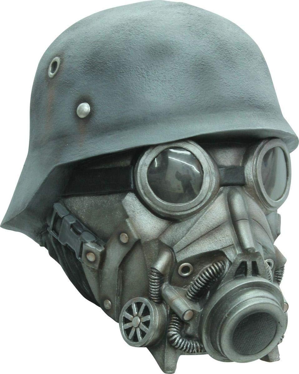 Generique - Soldat mit Gasmaske - Maske für Erwachsene