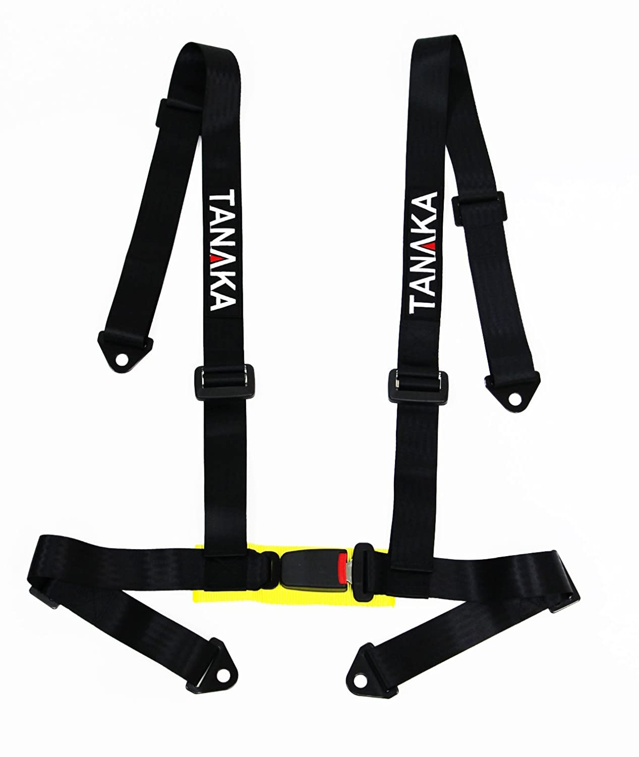 Amazon.com: Tanaka 4-point Buckle Sports Harness Seat Belt One Set