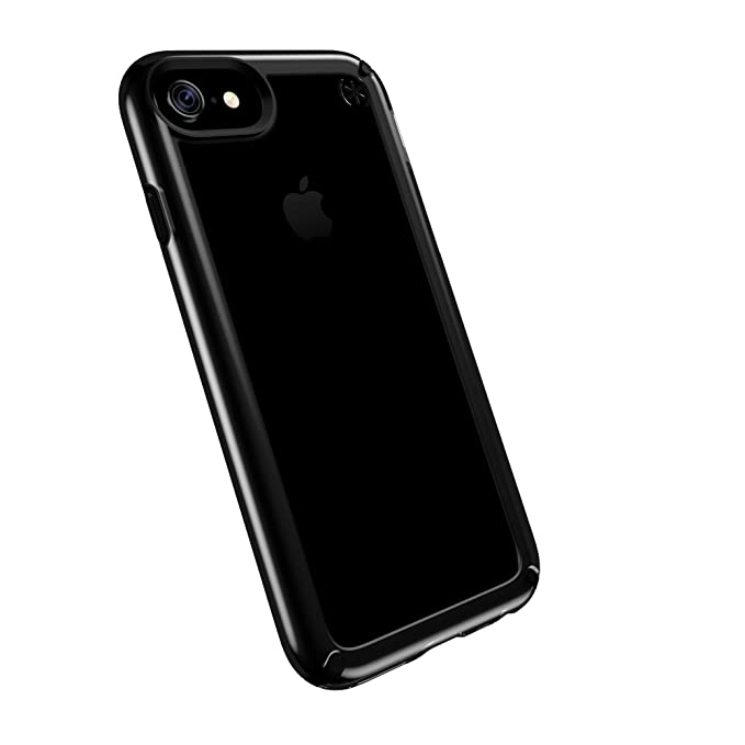new arrival 29467 49809 Speck Products Presidio Show Cell Phone Case for iPhone 7/6S/6 - Clear/Black