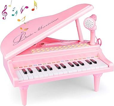 Il miglior Apprendimento Il Mio Primo Libro Pianoforte-Giocattolo Musicale Educativo per Bambini