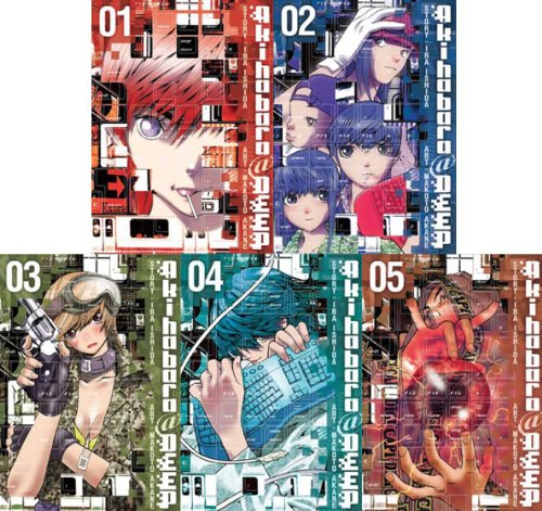 Akihabara@Deep Graphic Novel Set Vol.1-5