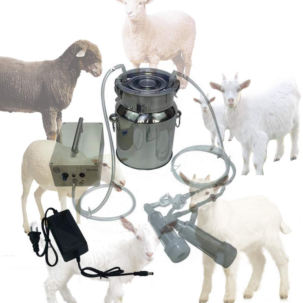 14L Vacuum Pulse Bionic Sheep Milking Machine (Advanced Version - Lithium Battery) by Futt