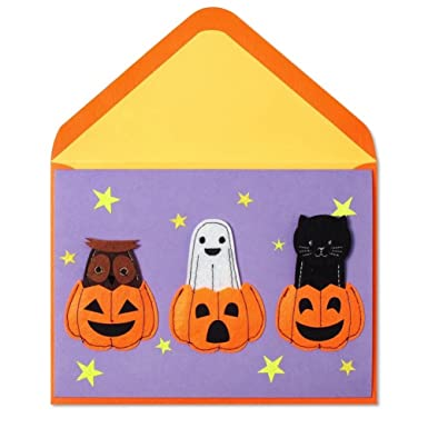 Amazon.com: Halloween Card by Papyrus Cards Halloween Costumes for ...