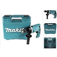MAKITA HP1631KX3 Taladro percutor 710w 13mm automático promo