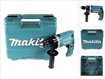 Makita Schlagbohrmaschine Im Koffer 710 W Inklusiv 74 Teilig