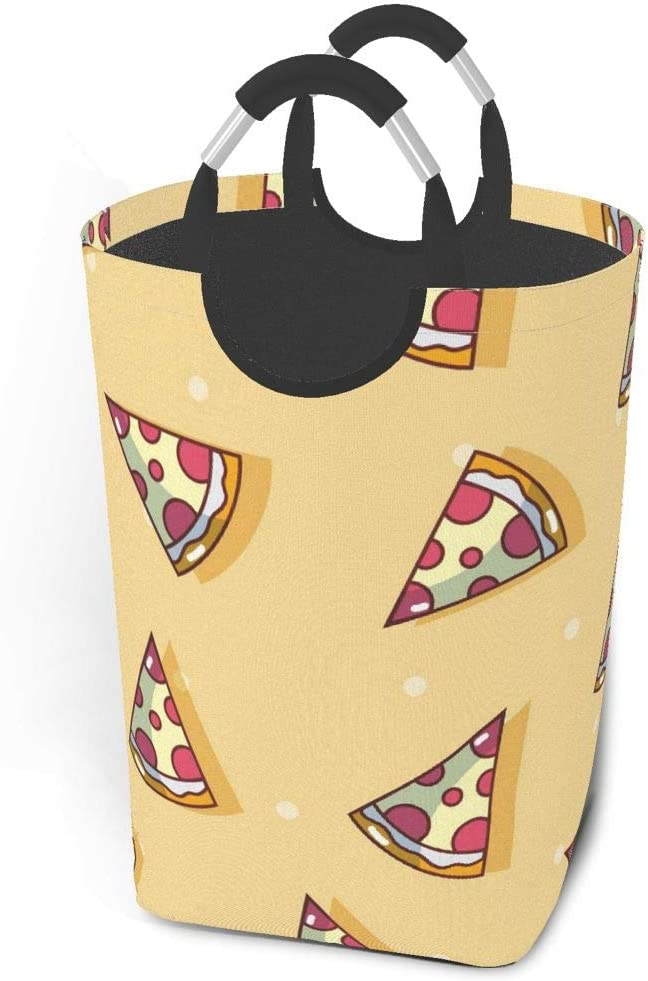 EU Laundry Basket-Pizza Rat Bonanza,Collapsible Washing Bag,Nursery Bedroom Toys Storage Bag