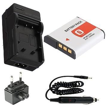 ARBUYSHOP NP-BG1 Batería y Cargador Kit para SONY Cyber-shot DSC ...