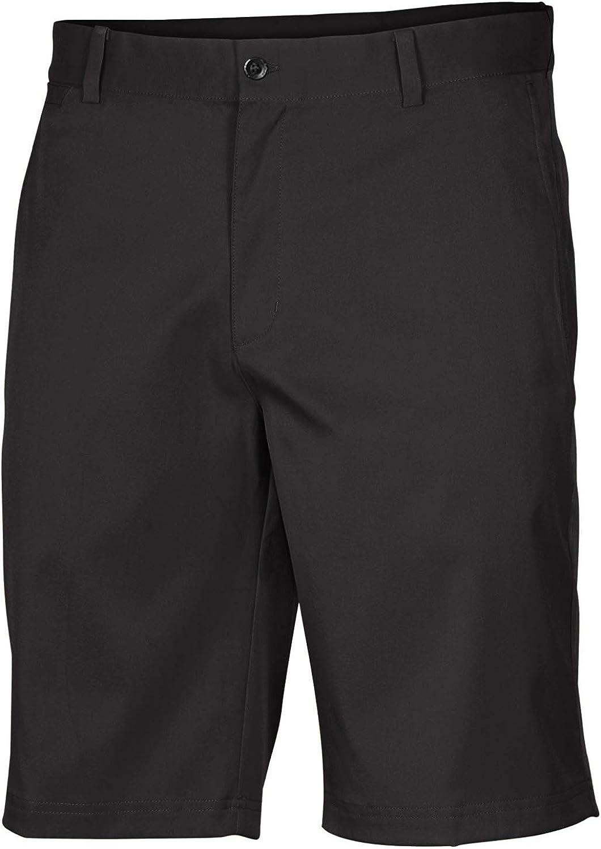 Nike Mens Flat Front Stretch Golf Shorts Black 897914 010 (40)