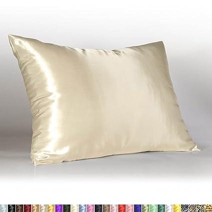 Satin Pillowcase For Hair Delectable Amazon Sweet Dreams Blissford Luxury Satin Pillowcase With