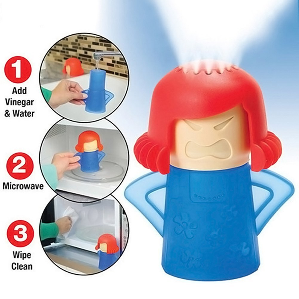 Angry Mamá Microwave Cleaner, TankerStreet Limpiador de Microondas ...