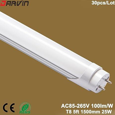Amazon.com: 5ft Led Tube lights Split T8 1500MM 25W Replace Old ...