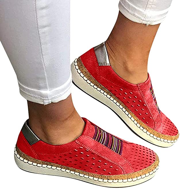 d2094e3f3f5d3 Amazon.com: Sneakers for Women,Canvas Shoes Women's Casual Round Toe ...