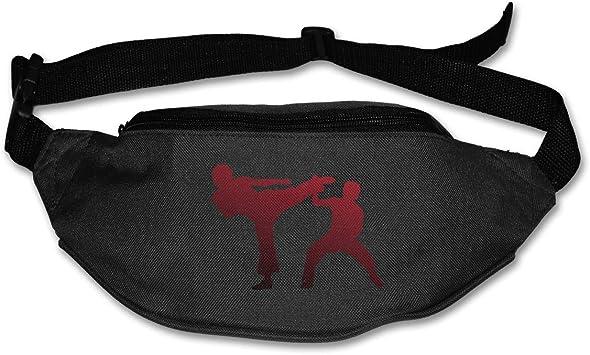 Karate Fight Sport Waist Packs Fanny Pack Adjustable For Run
