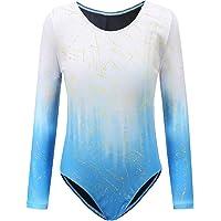 Sinoem Gymnastiek turnpakjes voor meisjes lange mouwen/mouwloos verloop kleur Sparkle turnpakje dansen ballet gymnastiek…