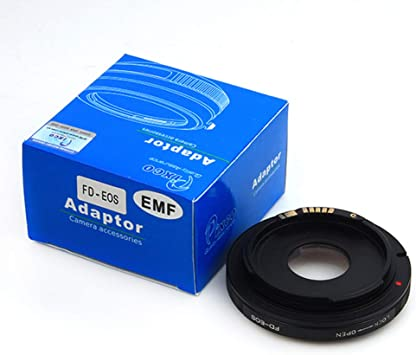 Pixco Optical AF Confirm Focusing Infinity Adapter Canon FD Lens to Canon EOS EF