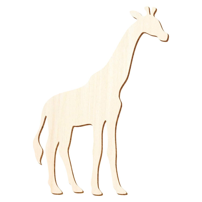 Holz Giraffe - 3-50cm Höhe - Basteln Deko, Deko, Deko, Größe 25cm, Pack mit 10 Stück B07NMPS7C1 | Authentische Garantie  a32d8c