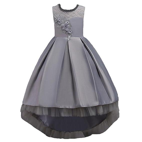 a28065e020a6 Zerototens Girls Prom Dress Wedding Flower Dress
