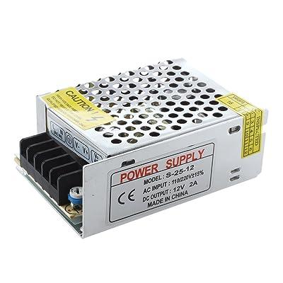 SODIAL(R) Adaptador transformador 25W 100-240V TIRA LED G4 MR16