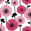Brewster 2532-20489 Darcy Modern Floral Wallpaper, Magenta