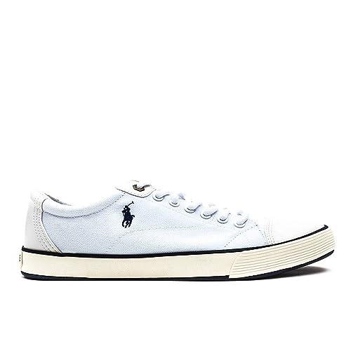 Polo Ralph Lauren Klinger Hombre Zapatillas Color Blanco, Color Blanco, Talla 42: Amazon.es: Zapatos y complementos