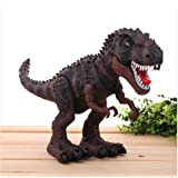 Wonder Toys Large 19 Inch Walking Dinosaur Toy with Lights and Dino Sounds