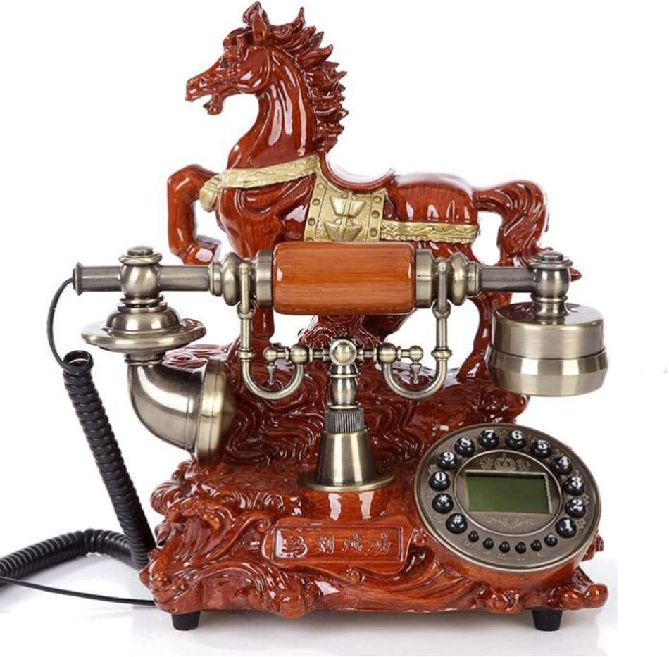 TelPal Home Intuition Amplified Single Line Corded Desk Telephone with Extra Loud Ringer,Novelty Office Business Telephone