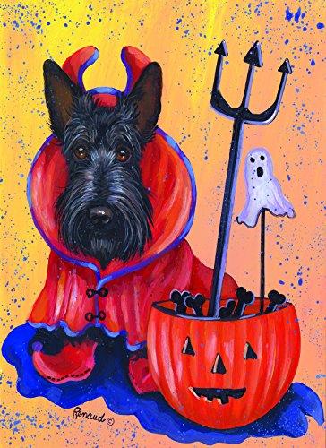 Scottish Terrier Boo Hoo -