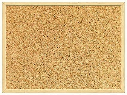 300MM x 400MM PIN SUGHERO AVVISO SEDE UFFICIO MEMO SCHOOL PUSH PIN BOARD CLASSIC NATURAL BOARD