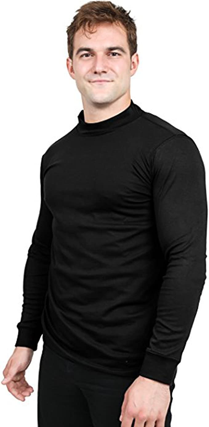 find Pack of 2 Mens Long Sleeve Cotton Turtle Neck Brand