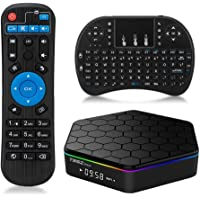Mini Teclado Inalámbrico Android 6.0 TV BOX Amlogic Octa Core-YiYunTE T95Z Plus 2GB RAM / 16GB ROM Dual WiFi 2.4GHz / 5GHz Bluetooth 4.0 1000M Ethernet H.265 soporte 4K resolución Reproductor