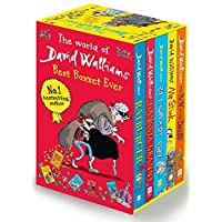 David Walliams Series 1 - Best Box Set Ever 5 Books Collection Set (Billionaire Boy, Mr Stink, The Boy in the Dress, Gansta Granny, Rat burger)