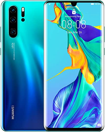 Huawei P30 Pro 128 Gb 647 Inch Oled Display Smartphone With Leica Quad Ai Camera 8gb Ram Emui 910 Sim Free Android Mobile Phone Single Sim