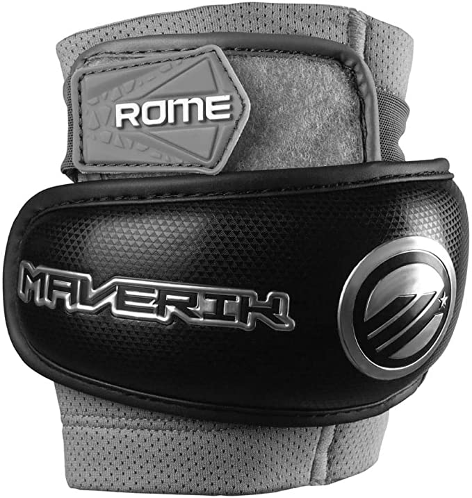 Maverik Rome Lacrosse Elbow Pads '19 Model - Best For Ventilation System