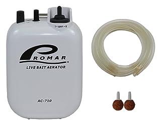 American Maple Inc 2 Speed Air Pump/Air stone and hose runs on'D' battery #AC-710 Promar