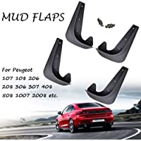 Sportflaps mudflaps Peugeot-juego completo de 4 mudflaps