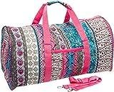 BOHO Travel Gym Cheer Duffel Bag 21″