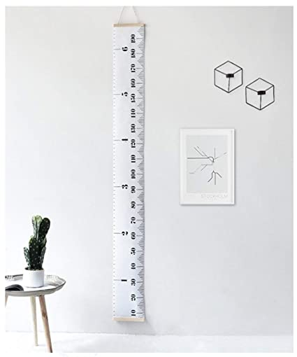 Kid Growth Chart Portable Hanging Ruller Wall Decor For Children