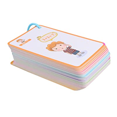 TOYANDONA Addition and Subtraction Flash Cards All Facts Color Coded Best for Kids in Kindergarten 1st 2nd 3rd Grade (Numbers): Office Products